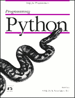 Programming Python 1st edition book cover